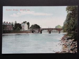 Cardiff: Canton Bridge c1908 Pub by M.J.R.B.