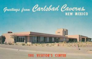 CARLSBAD CAVERNS NATIONAL PARK, New Mexico, 50-60s; Visitors Center
