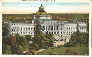 The Library Of Congress Building, Washington, DC - WB
