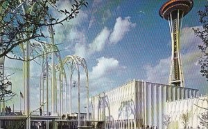 The Space Needle Is Not Falling Seattle Washington 1962