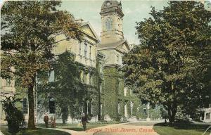 Toronto Ontario~Normal School~Church & Gould Streets~Razed 1963~1907 Postcard