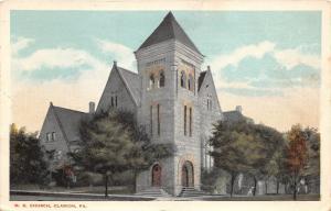 Clarion Pennsylvania~Methodist Episcopal Church~Beautiful Stone Building~1916 PC
