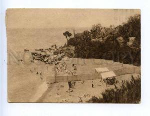 204905 RUSSIA  Yalta beach ADVERTISING Red Cross RPPC