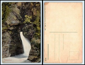 SWITZERLAND Postcard - Trummelbach Falls, Lower FF