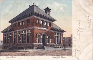 Massachusetts Haverhill Post Office 1908