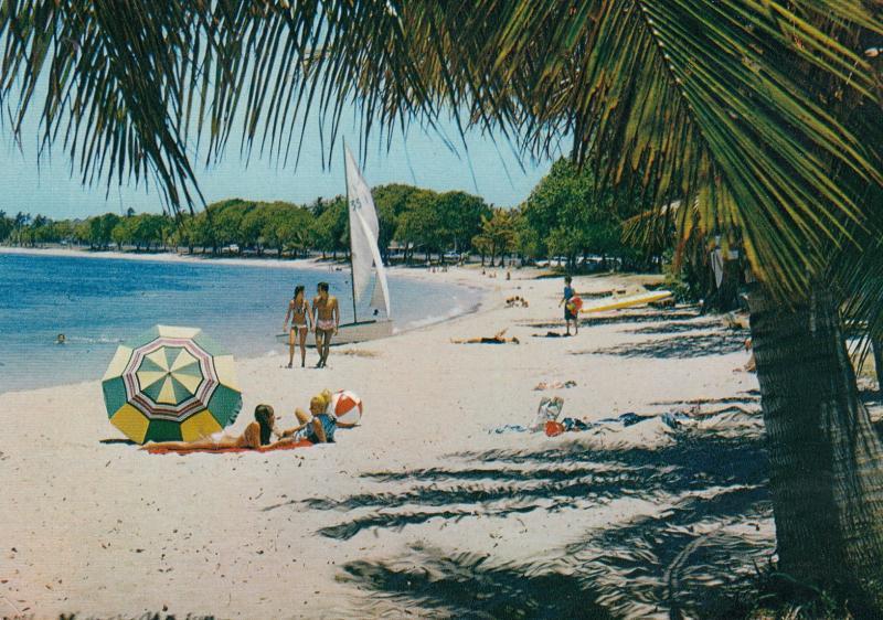 NOUMEA , New Caledonia , 50-70s ; The Anse-Vata Beach