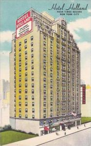 New York City Hotel Holland Near Times Square