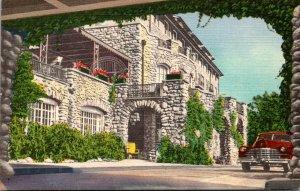 Pennsylvania Pocono Mountains Buckhill Inn Main Entrance