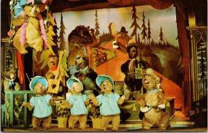 The Country Bear Jamboree Disneyland CA California Vintage Postcard F15