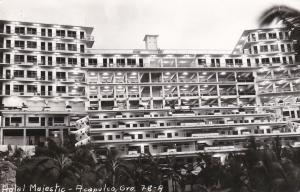 RP: ACAPULCO, Gro., Mexico, PU-1955; Hotel Majestic