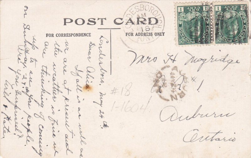 Pennet Greetings , Bridge view , LONDESBOROUGH  , Ontario , Canada , PU-1918