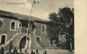 PC CPA SYRIA, KAFFART, HAREM, Vintage Postcard (b16569)