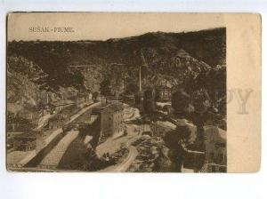 129658 CROATIA Croatia SUSAK Fiume RIJEKA Vintage postcard