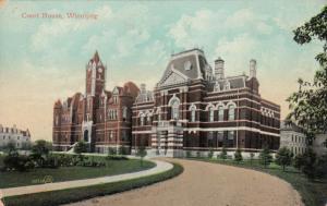 WINNIPEG , Manitoba , 1908 ; Court House #3
