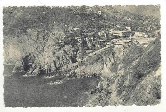 Hotel Mirador en la Quebrada, Acapulco, Mexico, Pu-1930