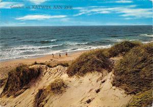 Netherlands Groeten uit Katwijk aan Zee Sea Waves