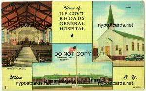US Gov't Rhoads General Hospital, Utica NY