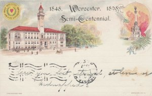 WORCESTER , Massachusetts, 1898 ; Semi-Centennial