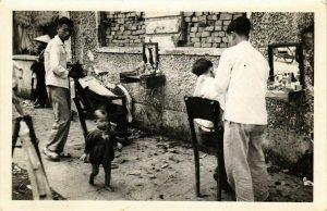 CPA AK INDOCHINA Real Photo on Postcard VIETNAM (957186)