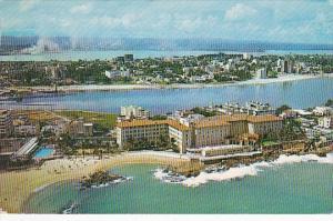 Puerto Rico San Juan The Condado Beach Hotel 1960