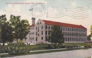 Illinois Aurora Factory Of The Aurora Corset Company