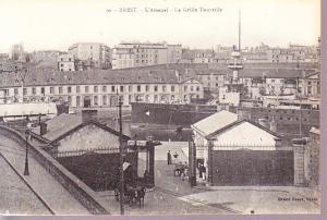 Brest - L'Arsenal - La Grille Tourville