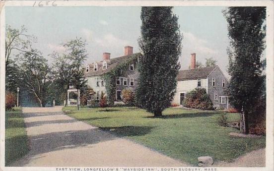 East View Longfellows Wayside Inn South Sudbury Massachusetts