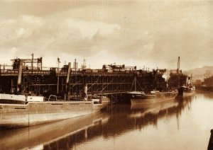 Postcard Coal Shipment at Dunston Staiths and Basin NER by Rail Photo Print 52V