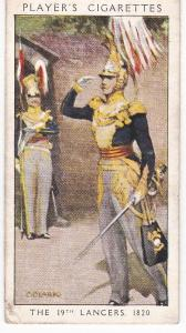 Cigarette Card Player's Dandies No 38 The 19th Lancers