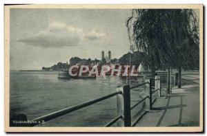 Old Postcard Friedrichshafen