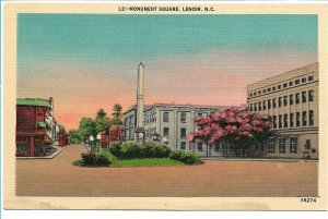 Lenoir, NC - Monument Square