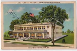 Lamar Bath House, Hot Springs Nat Pk AR