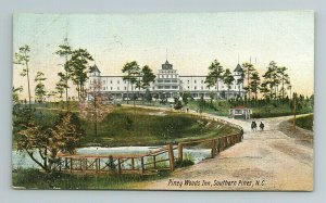 Piney Woods Inn Southern Pines Hotel Resort North Carolina NC Postcard