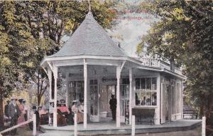 EXCELSIOR SPRINGS, Missouri, PU-1908; Sulpho-Saline Springs, Kiosk