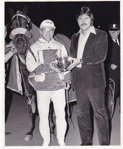 RP; YONKERS, New York, LT. COL. JOE Wins Harness Horse Race, Charles Leersen ...