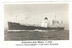 RP, Cargo Liner, American Mail Line, Pacific Northwest -- Far East Service, 1...
