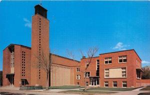 Minnesota Moorhead   Trinity Lutheran Church,  Parish,  Education Building