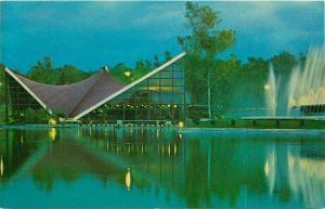 Del Lago Restaurant Mexico New Chapultepec Park Postcard