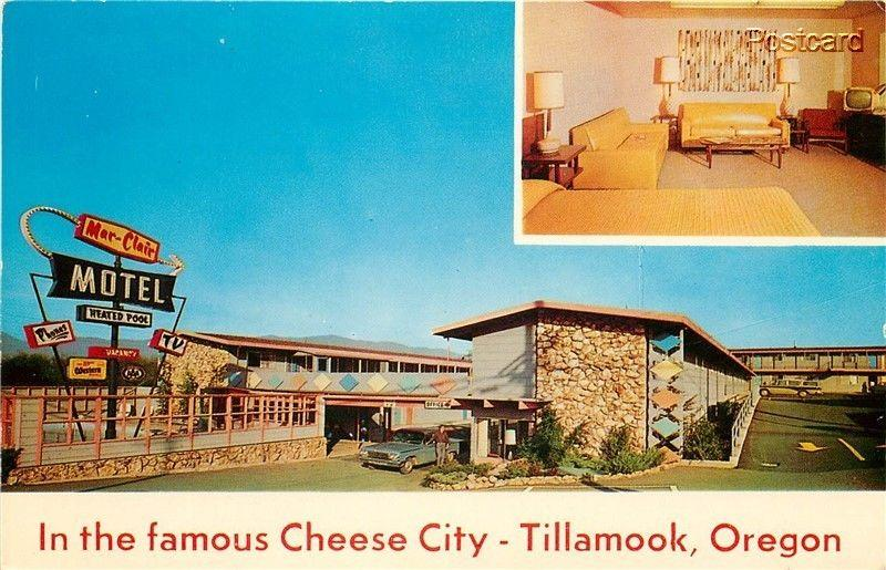Or Tillamook Oregon Mar Clair Motel Restaurant Dexter Press No