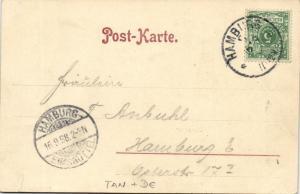 tanzania, ZANZIBAR, Panorama, Native Types (1898) Albert Aust Ost-Afrika No. 83
