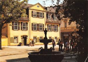 Weimar Schillerhaus House Statue