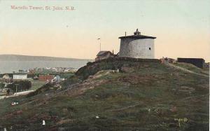 Martello Tower, St. John, New Brunswick, Canada, 1900-1910s