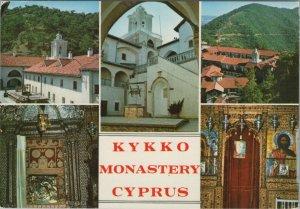 Cyprus Postcard - Views of Kykko Monastery   RR10509