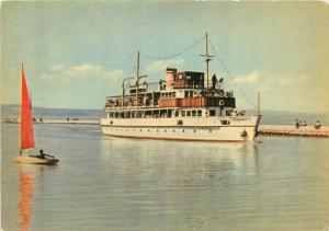 Pleasure Ship on Balaton Lake Hungary
