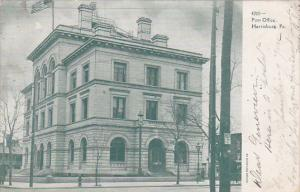 Post Office, Harrisburg, Pennsylvania, PU-1908