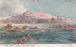TUCK #7310, Joppa From The Sea, The Holy Land, Palestine, 1900-1910s