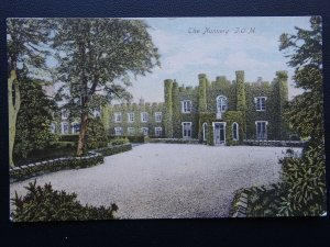 Isle of Man THE NUNNERY - Old Postcard by The Woodbury Series 2895