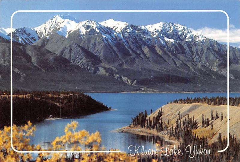 Kluane Lake - Yukon