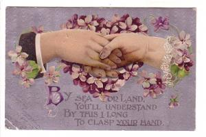 Sea or Land,  Hands Across the Sea, Heart Made of Flowers BB London West Berl...