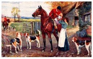 Dog  , The hunt Day  ( Fox Hunt )